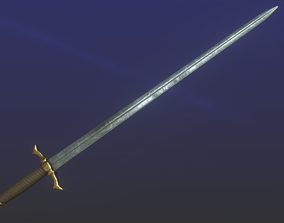 3D asset Epic Sword