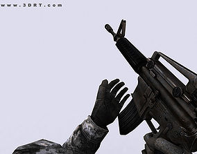 animated 3DRT - Modern Firearms Animated - M16