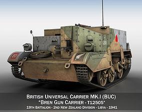 carrier Bren Gun Carrier MK I - BUC - T12505 3D