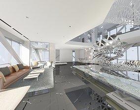 3D Office Lobby 1