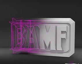 McCree belt Overwatch 3D printable model