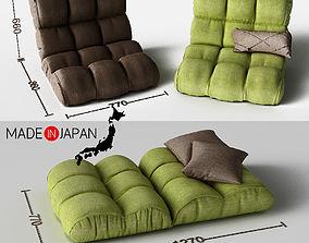 3D model Sofa Piglet
