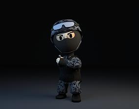 3D asset Elite Force