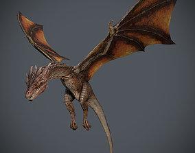 3D model animated Dragon-Maya-Animation