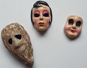 the strangers masks 3D printable model