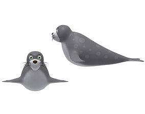 Cartoon Seal 3D