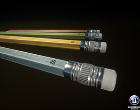 Pencil 3D asset realtime