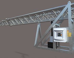 TELESCOPIC TOWER SYSTEM 3D model