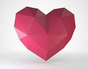 3D asset Heart decor