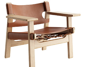 3D model The Spanish Chair by Fredericia