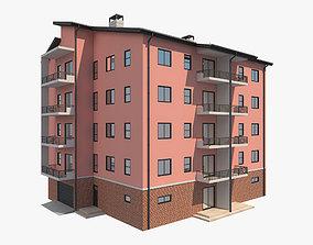 3D Apartment Building 10