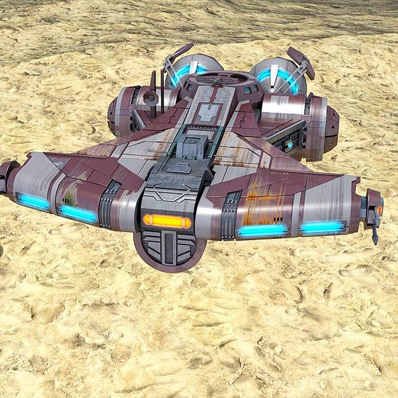 Star Wars Defender Class Light Corvette