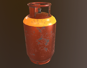 Gas Canister - PBR Game Ready 3D asset