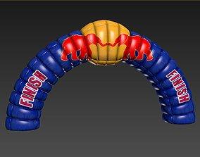3D model Redbull Start Finish CheckPoint