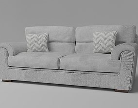 3D Simple Sofa Two seat sofa