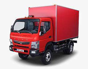 3D Mitsubishi Fuso Canter 4x4 Box
