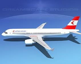 Airbus A320 LP Austrian 3D model