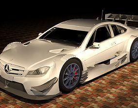 3D Mercedes C63 amg GT Track