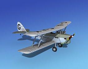 Dehavilland DH-82 Tiger Moth V01 3D