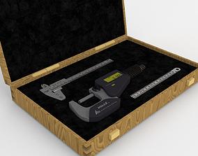 3D model Measuring Equipment Set