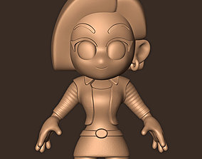 C-18 chibi Dragon Ball Z 3D print model