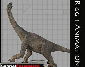 3D asset Brachiosaur