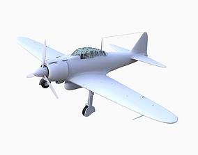 Zeroh Plane Model 3D asset