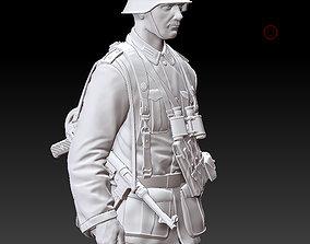 3D printable model German officer