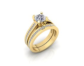 3D print model Solitaire Ring 9