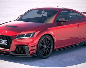 Audi TT RS performance 2018 compact 3D model