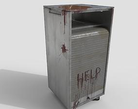 3D model Roll-up Door Cabinet