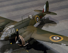 3D model British WW2 Bomber Collection 01