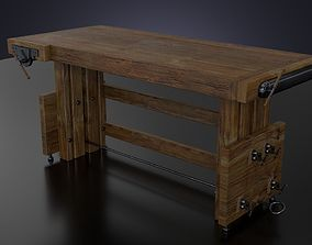 3D The workbench table
