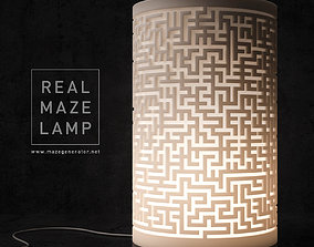 Real maze lamp 3D printable model