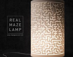 Real maze lamp 3D printable model