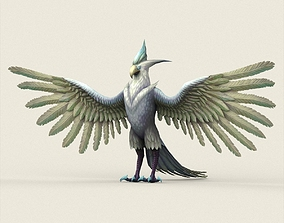 Fantasy Monster Eagle 3D model