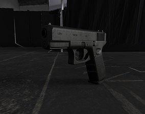 Glock 19 Gen5 9x19 3D asset
