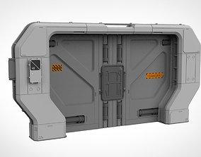 sci fi door 20 3D model