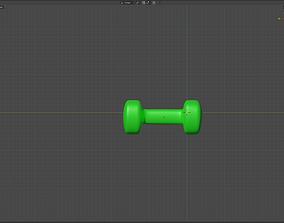 Dumb-Bell Training equipment 3D asset