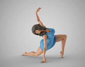 background Dance Spirit 3D print model