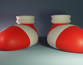 Sonic Shoe SatAM 3D model