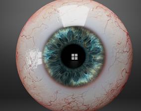 3D model realtime Human eyes