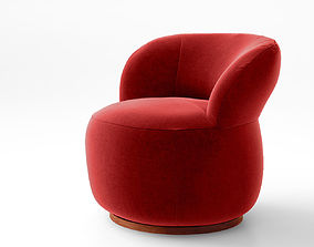 3D Jardan Joy armchair and Ottoman