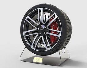 3D model Wheel Rims For Audi Rs6