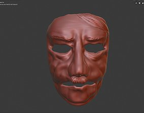 3D print model Opa Adi Carnival face mask