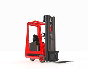 3D Forklift Small 3 Wheels