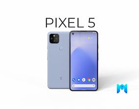 3D asset 2020 Google pixel 5