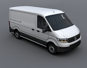Volkswagen Crafter 2018 3D model