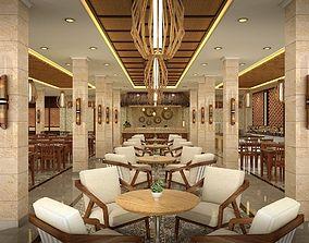 Traditional Restaurant 3D model