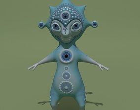 3D model Mystical Monster D